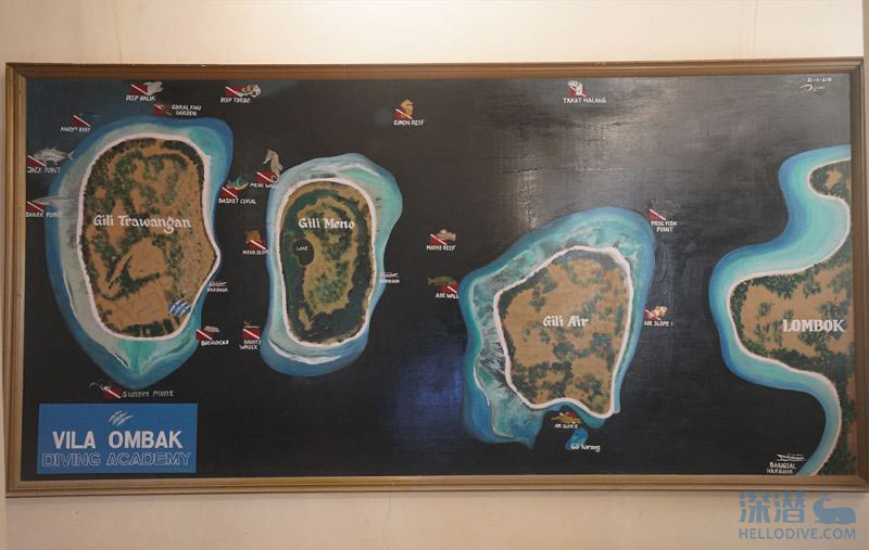 龙目岛潜水有哪些特色的潜点呢?