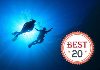 中文版全球最佳潜点榜单